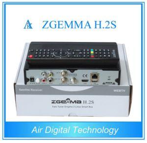 Twin Sat Tuner Zgemma H2s Original Enigma2 Dvbs2 Satellite Recdeiver pictures & photos