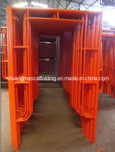 Stable Welding Frame Scaffolding System Constrution Used pictures & photos