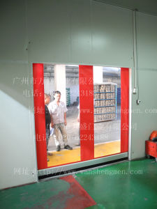 Transparent Plastic Material Made in China Doors