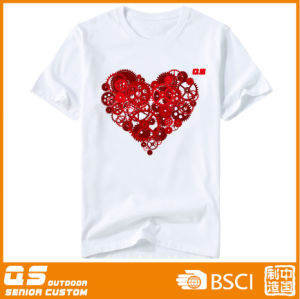 Women′s Heart Sports Running Quick Dry T-Shirt pictures & photos