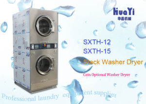 Sxth Commercial Vended Stack Washer Dryer pictures & photos