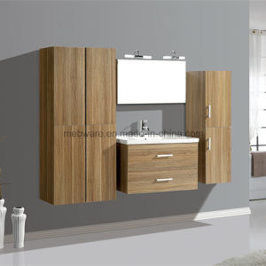 Modern Melamine Surface MDF Bathroom Vanity pictures & photos