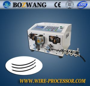 Computerized Wire Cutting and Stripping Machine for Photovoltic Wire pictures & photos