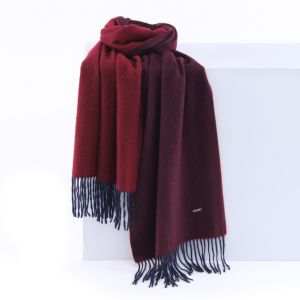Custom Top Quality Pure Cashmere Warmly Scarf with Tassel (LS-CM-1007) pictures & photos