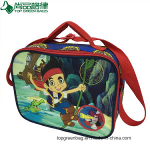 2017 Cartoon Child Insulated Lunch Bag Shoulder Cooler Bag for Promotional pictures & photos