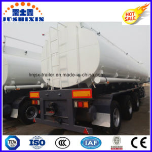 3 Axles 45000L Fuel Tank Oil Tanker Truck Trailer pictures & photos