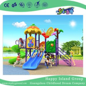 2018 New Design Outdoor Children Vegetable House Playground with Combination Slide (H17-A7) pictures & photos