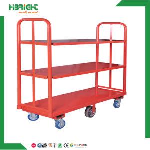 Six Wheel Folding Warehouse Cart pictures & photos