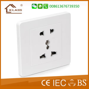 High Quality Best Price Satelite Socket + Tel Socket pictures & photos