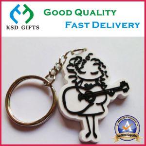 Custom Logo Key Ring Cheap PVC Keychain pictures & photos