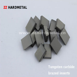 Tungsten Cemented Carbide Brazed Tips K20 P30 A20 C20 pictures & photos