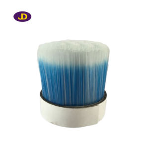 White Mixed Black Bristle Pet Hollow Brush Filament pictures & photos