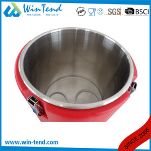Widely Use Portable Heat Presevation Locked Food Container Barrel for Restaurant pictures & photos