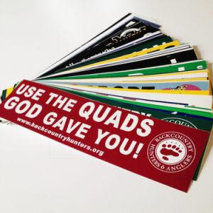 Outdoor Weather Resistant Vinyl Custom Bumper Stickers pictures & photos