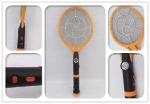Three Layers Rechargeable Mosquito Killing Racket with LED & Torch Wholesale Eco-Friendly Bug Zaper pictures & photos