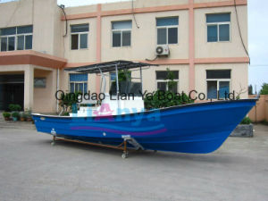7.6m 10persons Fiberglass Fishing Boat Shipping Boat Transport Boat pictures & photos