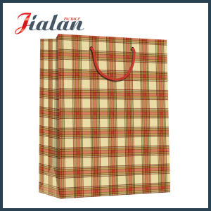 Black Logo Printed Customize Good Quality Retail Kraft Paper Bag pictures & photos