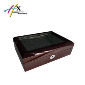 Glossy Lacquer Wooden Watch Box/Case pictures & photos