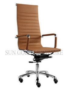 White High Back Leather Swivel Emanager Eames Office Chair (SZ-OC026W) pictures & photos
