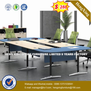 Steel Metal Base MFC Wooden Conference Table /Conference Desk (NS-NW219) pictures & photos