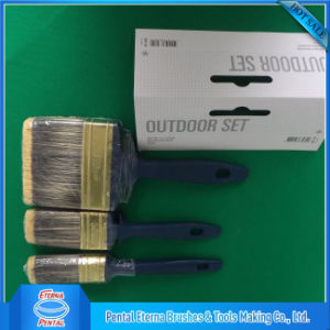 Plastic Handle Paint Brush with Bristle Mixed Filament pictures & photos