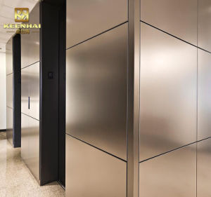Interior Stainless Steel Metal Wall Panel Cladding pictures & photos