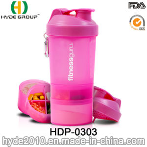 Wholesale BPA Free PP Plastic Protein Shaker Water Bottle (HDP-0303) pictures & photos