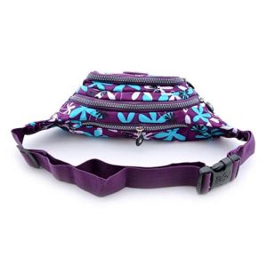 Women Fashionable Floral Printing Outdoor Hiking Waist Pack Fanny Pack Bag pictures & photos