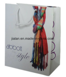 BSCI Audit High Quality Shopping Bag with Silver Hot Stamping pictures & photos