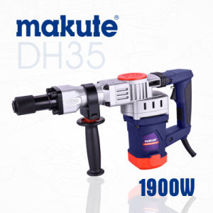 Makute Pr35me Electric Rotary Demolition Hammer Drill (DH35) pictures & photos