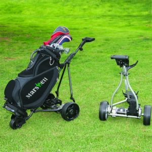 Three Wheel Folding Electric Golf Cart Trolley (DG12150-B) pictures & photos