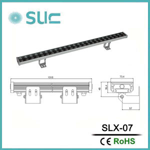 Double Row 48W High Efficiency LED Wall Washer pictures & photos