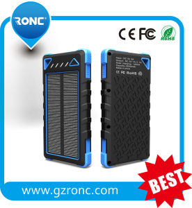 Promotional Gift Travel RoHS Solar Power Bank 8000mAh pictures & photos