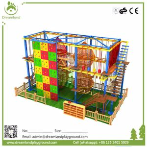 Children Adventure Play Indoor Park High Ropes Course for Kids pictures & photos
