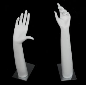 Fiberglass Mannequin Hand with Metal Base pictures & photos