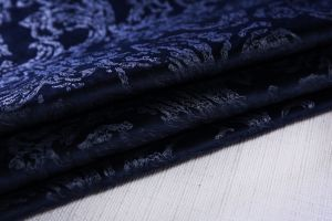 2017 Sofa Fabric Burn out Velvet 3D Effect Looks pictures & photos