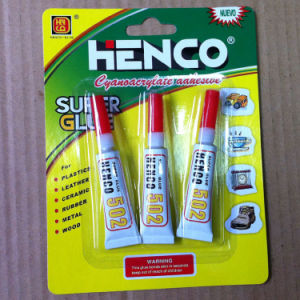 3PCS Packing Super Glue in Aluminum Tube pictures & photos