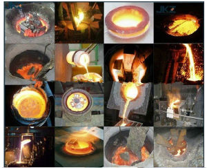 Induction Heating Machine Melting Furnace for Melting 10 Kgs of Copper, Brass, Silver, Gold, Stainless Steel, Aluminium etc pictures & photos