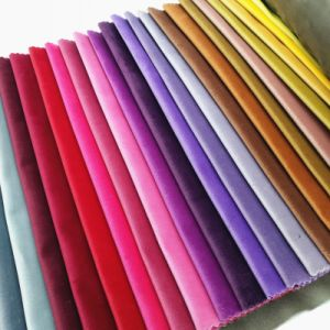 Woven Polyester Dyed Velvet Textile Sofa Upholstery Fabric pictures & photos
