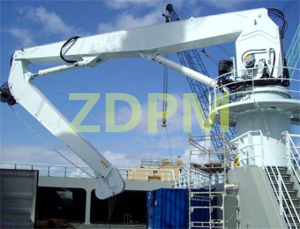 Middle Size Hydraulic Knuckle Boom Crane pictures & photos