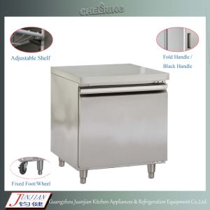 Ce Approved Desktop Stainless Steel Restaurant Prep Table Refrigerator Workbench pictures & photos