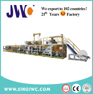 Disposable Full Servo Medical Underpad Machine (JWC-CFD-SV) pictures & photos