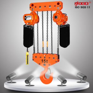 15ton Electric Chain Hoist with Hook Suspension pictures & photos