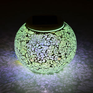 Colar Changing Solar Outdoor Mosaic Light pictures & photos