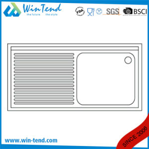 Commercial Stainless Steel Kitchen Undermounted Sink for Restaurant pictures & photos