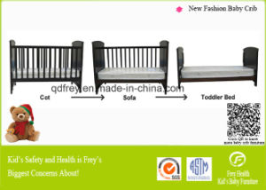 Solid Pine Wood Baby Furniture for Infant Bedding Room