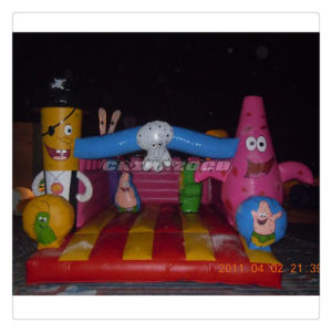Amazing Ocean Theme Catoons Inflatable Jumping Bouncer Castle