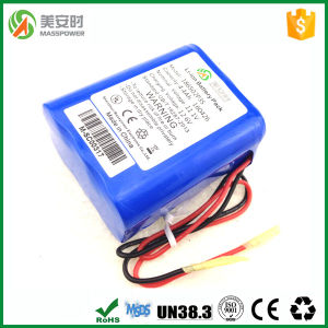 Wholesale Rechargeable 12V 4.4ah Lithium-Ion Battery for Medical Device (CE, RoHS, MADS) pictures & photos