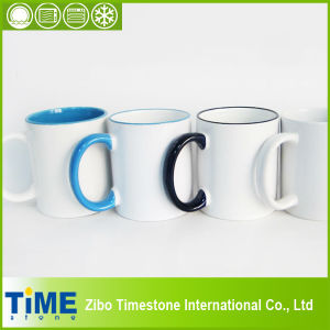 Stoneware Ceramic Mug for Photo Print Sublimation (15032302) pictures & photos