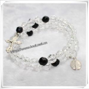 Resin Beads Beaded Bangle Classic Wrap Around Bracelet Rosary (IO-CB031) pictures & photos